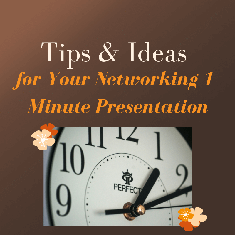 Tips-and-Ideas-for-Your-Networking-1-Minute-Presentation Pearce Marketing, East Sussex