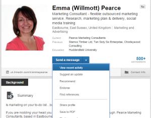 LinkedIn Recent Activity Blog