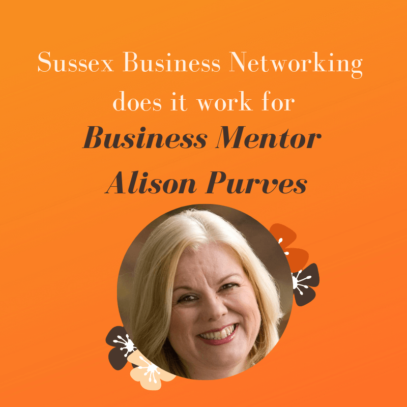 Sussex Business Networking - Does it work for Business Mentor Alison Purves?