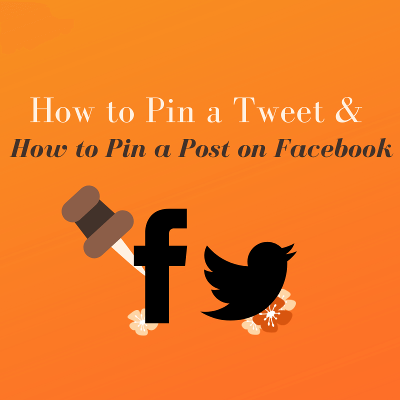 How to Pin a Tweet & How to Pin a Post on Facebook