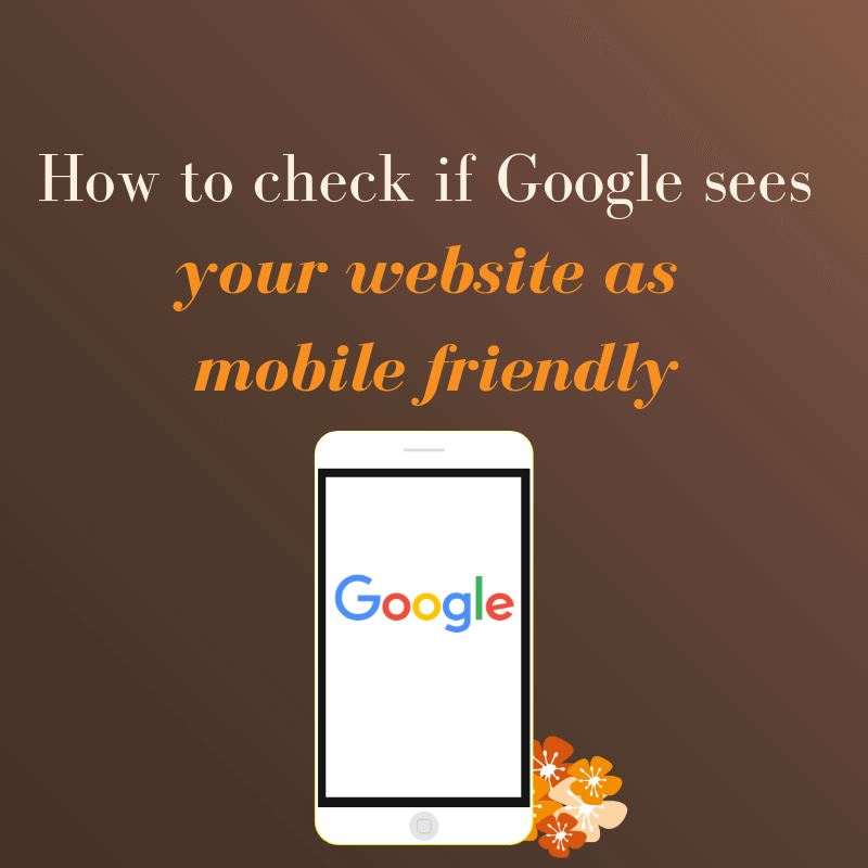 Google's new algorithm update states that websites that aren't mobile friendly are much less likely to be shown in search engine results.