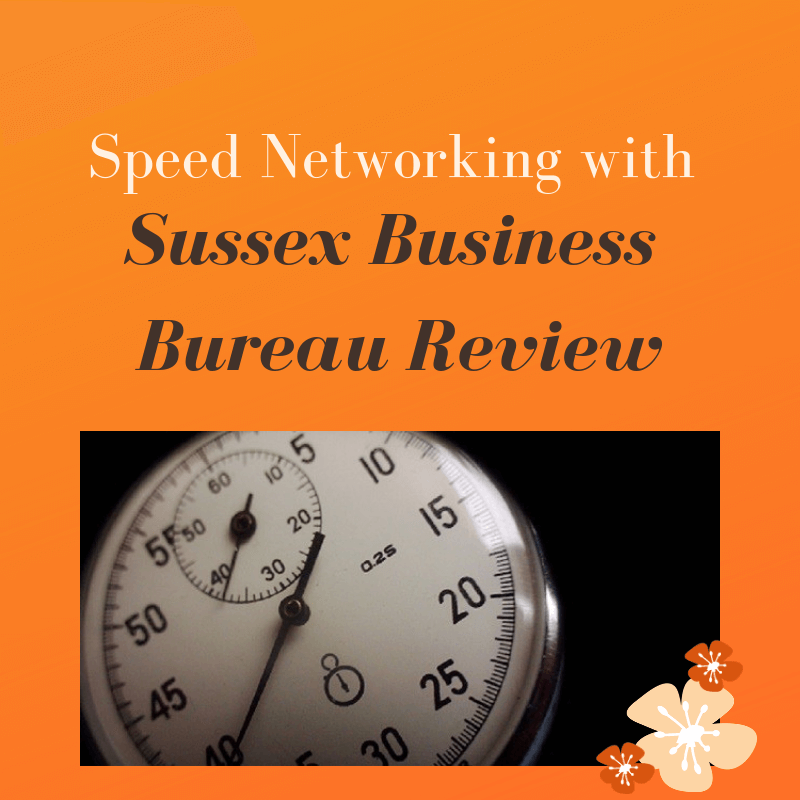 Emma went along to a Speed Networking event run by Sussex Business Bureau in Brighton and reports back on this unique networking meeting...
