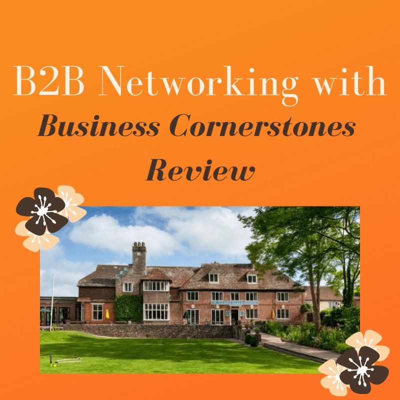 B2B Networking with Business Cornerstones Review
