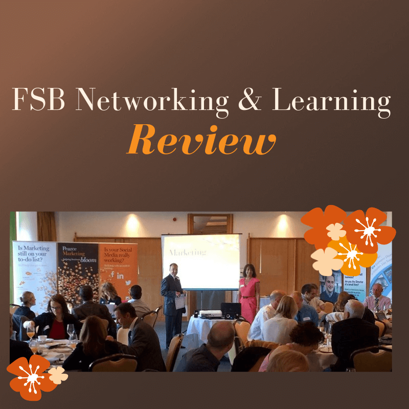 FSB Networking & Learning Review