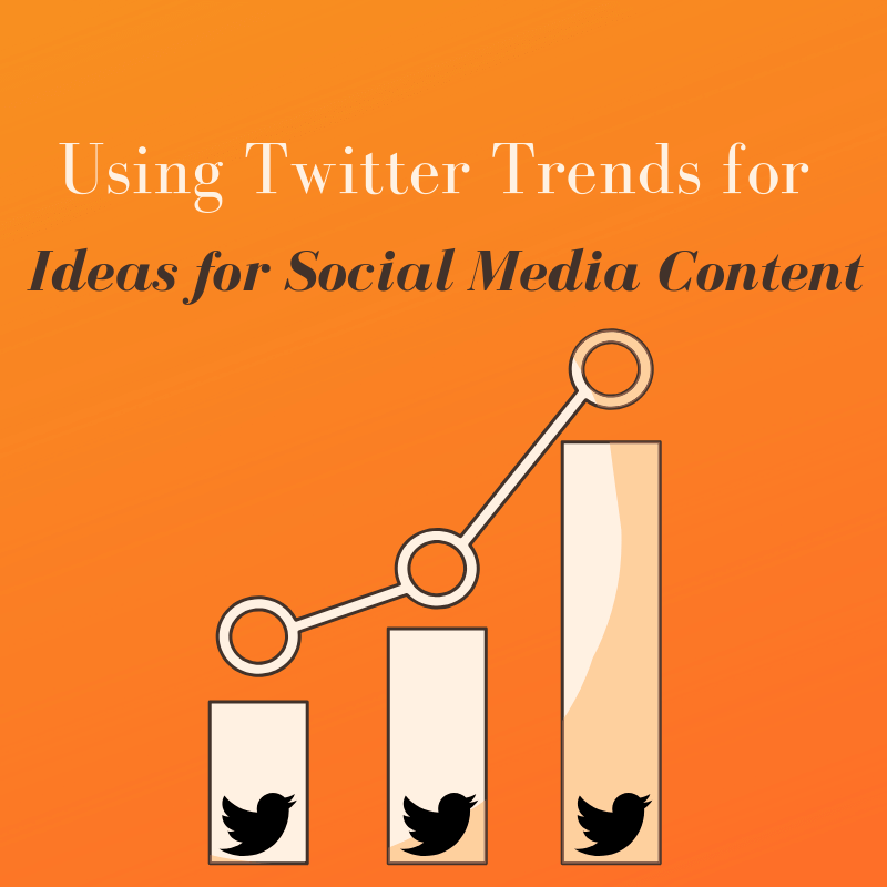 Using Twitter Trends for Ideas for Social Media Content