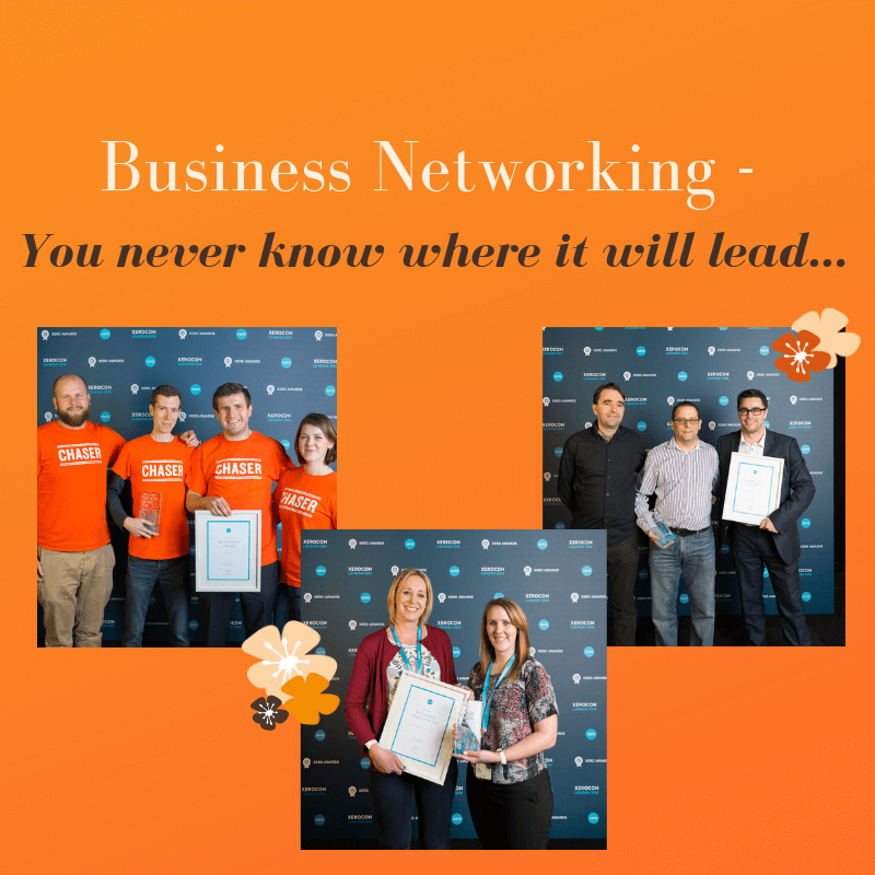 Business Networking - You never know where it will lead...