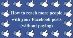 how to get people to see facebook business.posts