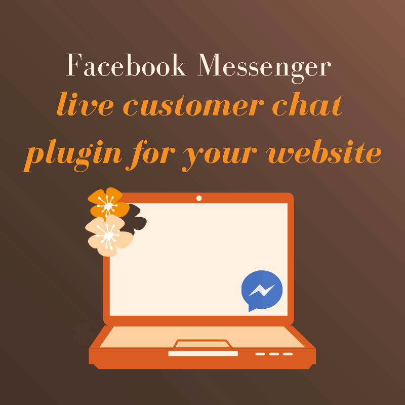 Facebook Messenger live customer chat plugin for your website!