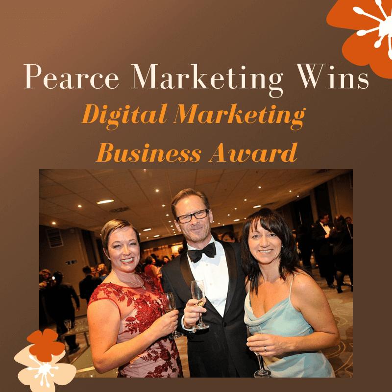Pearce Marketing Wins Digital Marketing Business Award