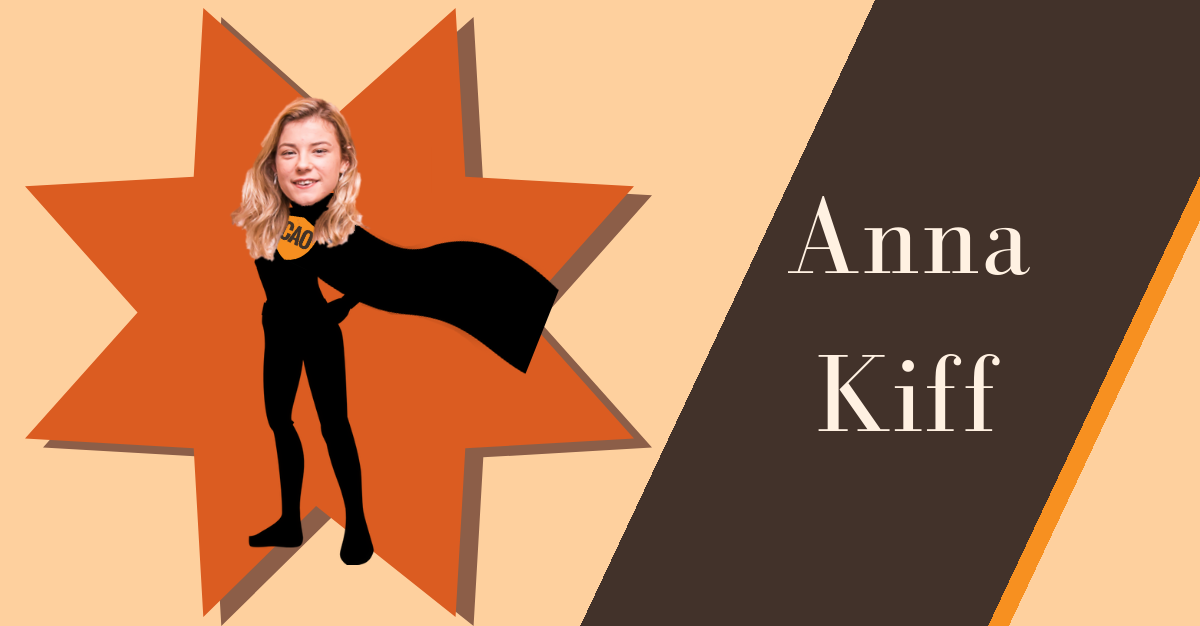 Anna Kiff Chief Awesome Officer