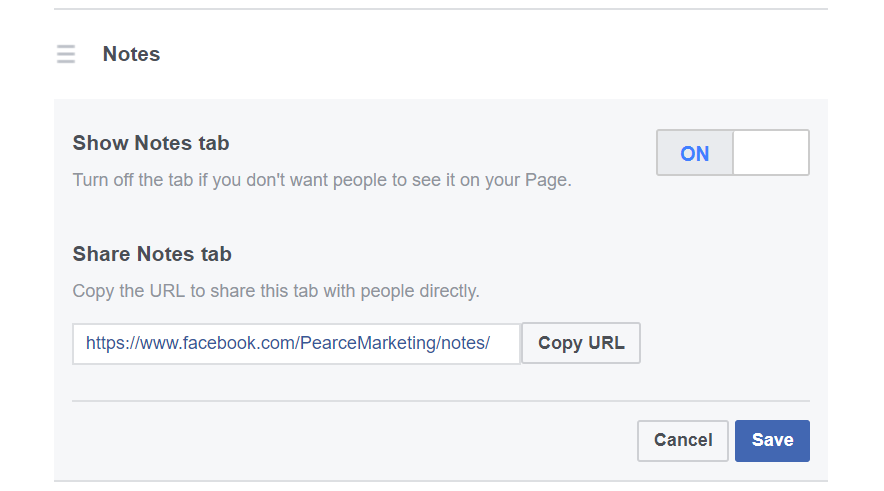 How to add a privacy policy to Facebook | Pearce Marketing, East Sussex