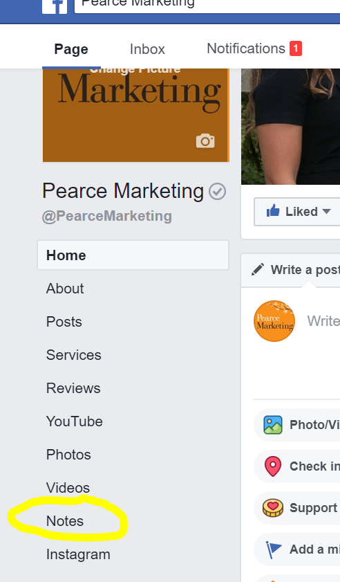 how to add your website to your facebook business page