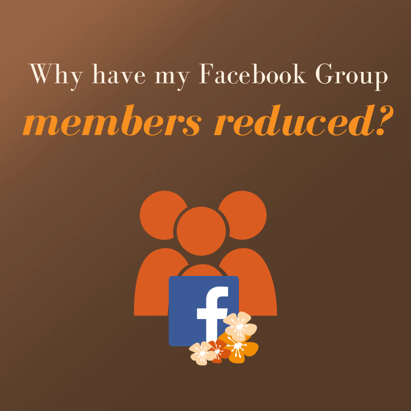 Why have my Facebook Group members reduced? |