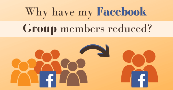 Why have my Facebook Group members reduced? Pearce Marketing Consultants Eastbourne, East Sussex