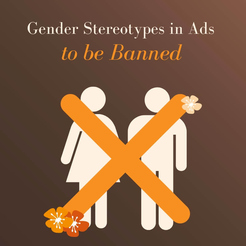 Gender |Stereotypes to be banned