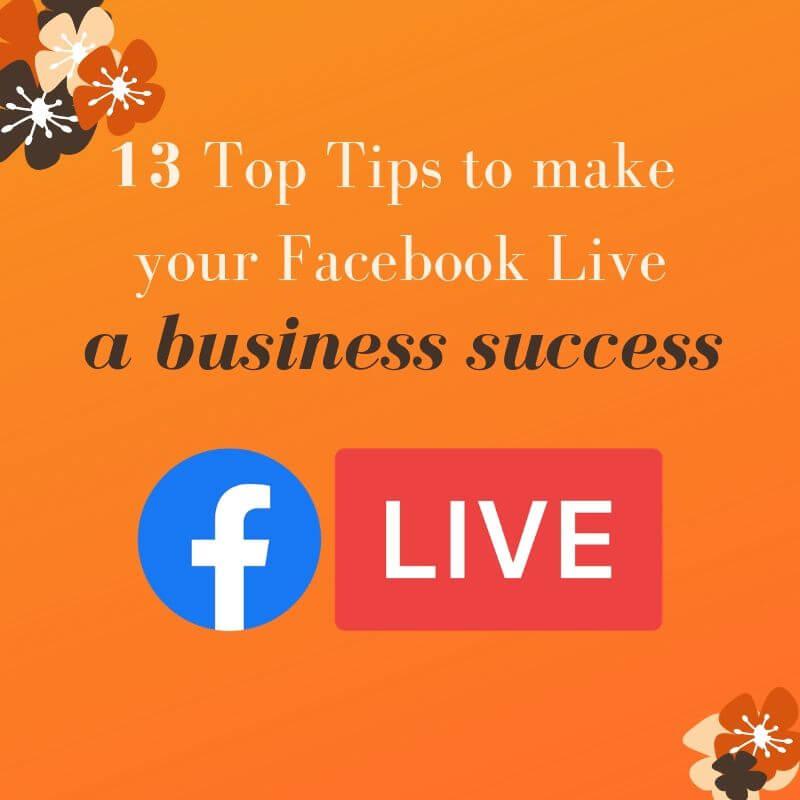 Facebook Live Success Graphic | Pearce Marketing