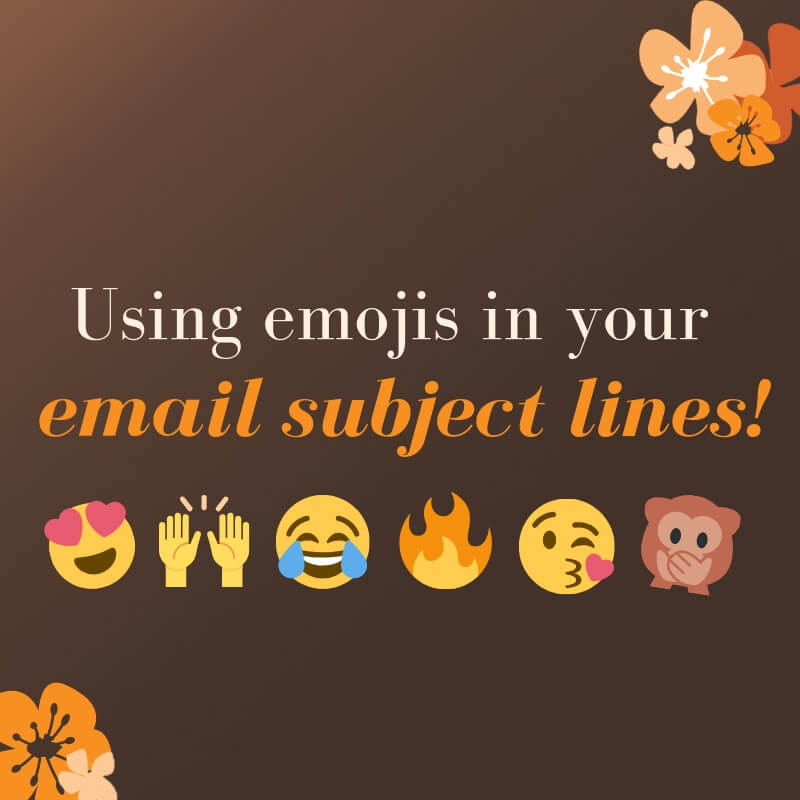 Using emojis in your email subject lines!